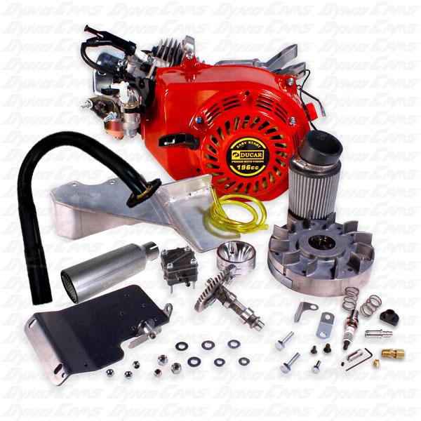 AKRA Stage 1 Ducar Engine Kit, Racer Assemble