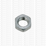 "3/8"" Hex Jam Nut, Right Hand, Aluminum"