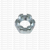 PRC 1/2-20 Jam Nut, Hex Slotted, Steel