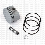 "Burris Chrome Piston Kit, +.015"", Flathead"