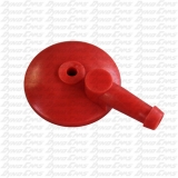 Tillotson Fuel Cap, Large Inlet, Red