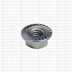 "Flanged Wheel Nut, 7/16"" Hex Head"
