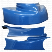JKB Fiberglass Body Kit, Blue