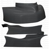 JKB Fiberglass Body Kit, Charcoal