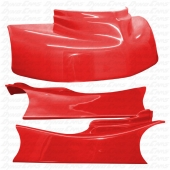 JKB Fiberglass Body Kit, Red