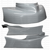 JKB Fiberglass Body Kit, Silver