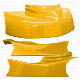 JKB Fiberglass Body Kit, Yellow