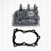 Cylinder Head with Cometic Gasket, Flathead