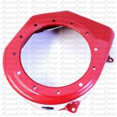Blower Housing, Red, Clone, Ducar 212