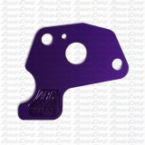 ".500"" Purple Restrictor Plate, Clone"