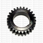 "27T Crank Gear 1"" ID, Flathead to Animal"
