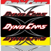 "DynoCams Decal, 2"" X 4.7"""