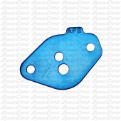Restrictor Plate, Turquoise WKA Jr, 2 Hole, Animal