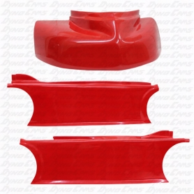 JKB XACT Fit Body Kit, High Side, Red