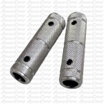 "Pedal Grip Set, 1/2"" Hole, Aluminum"