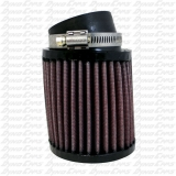 K&N 3.75 x 4 Short Stack Air Filter, Clone, Flathead