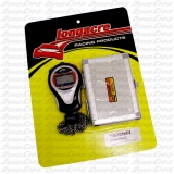 Longacre 30 Lap Stopwatch, No Backlight, Silver Case