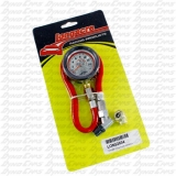 "Longacre Basic 2"" GID Tire Gauge, 0-15 PSI"