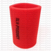 "RLV 5"" Filter Wrap, Red, Animal"