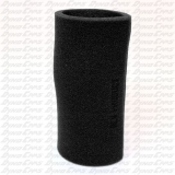 "RLV 8""  Foam Filter Wrap, Black"