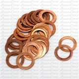 Spark Plug Washers, Copper, 30 Per pack
