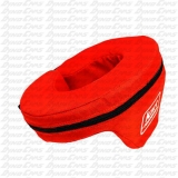 CHILD NECK BRACE W/SUPPORT RED