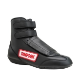 BLACK STEALTH SPRINT SHOES