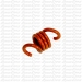 STINGER CLUTCH SPRINGS ORANGE